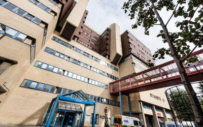 Patients and doctors pilot a new discharge process at St Mary's Hospital in Paddington