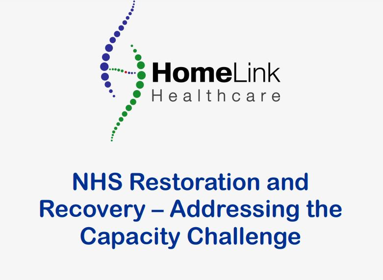 Restoration and Recovery – Addressing the Capacity Challenge